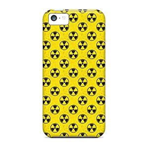 Perfect Fit BCeVN9175UoVyx Radioactive Symbol Case For Iphone - 5c