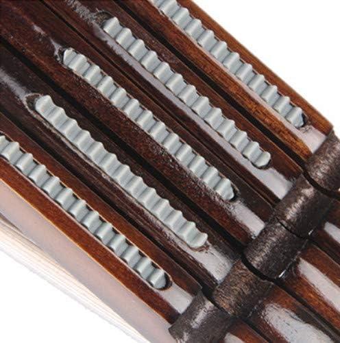XXCKA Solid wood wide hook hanger brown 10pcs non-slip