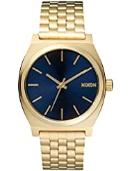 NIXON TIME TELLER: ALL LIGHT GOLD / COBALT NA0451931-00 Men
