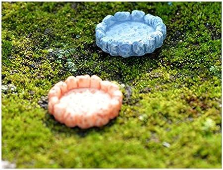HGJNGHBNG Jardín en Miniatura Mini Paisaje decoración Bricolaje Resina Piscina Ornamento Bonsai Craft casa de muñecas para jardín hogar (Amarillo): Amazon.es: Hogar