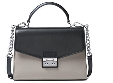 e7ea60bc809c9 Amazon.com  MICHAEL Michael Kors Sloan Medium Top-Handle Leather Satchel