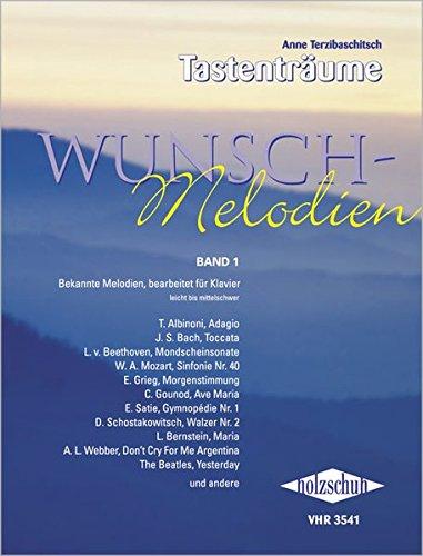 Wunschmelodien Band 1: Über 100 bekannte Themen und Melodien bearbeitet für Klavier