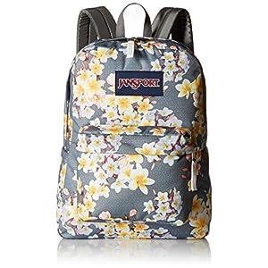 JanSport Unisex SuperBreak Diamond Plumeria Backpack
