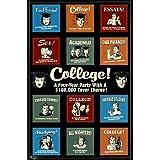 Retrospoof - College Collage Humor Poster Print, 23x35