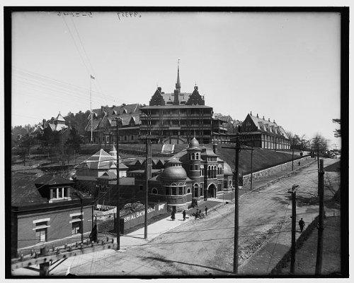 - HistoricalFindings Photo: Army,Navy General Hospital,public baths,health care,Hot Springs,Arkansas,AR,1900