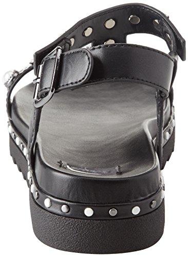Nero Donna Sandali BATA alla Cinturino Caviglia 561369 con 78zqw0f