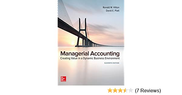 Amazon managerial accounting creating value in a dynamic amazon managerial accounting creating value in a dynamic business environment ebook ronald hilton kindle store fandeluxe Gallery