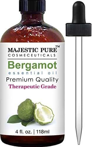 Majestic Pure Essential Oil, Bergamot, 4 Fluid Ounce