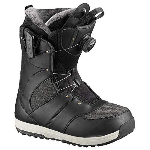 Salomon Snowboards Ivy Boa Snowboard Boot - Women's Black, 6.5