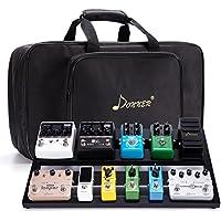 Donner Guitar Pedal Board Case DB-3 Aluminium Pedalboard...