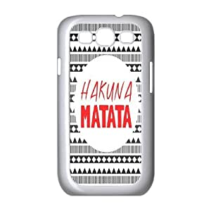 Unique Phone Case Pattern 14Hakuna Matata Lion King- For Samsung Galaxy S3