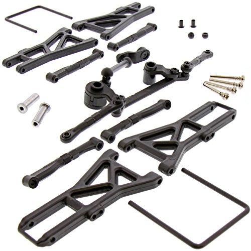 - Kyosho 1/10 Dirt Hog RS Suspension ARMS, SERVO Saver & Hinge PINS Bell Crank