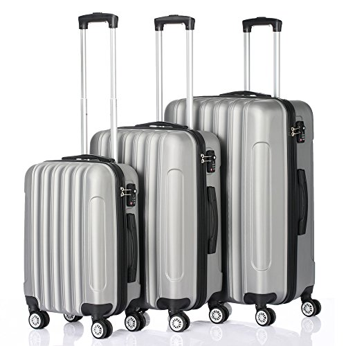 Four 24 Inch Trolley - 3-in-1 Portable ABS Trolley Case 20