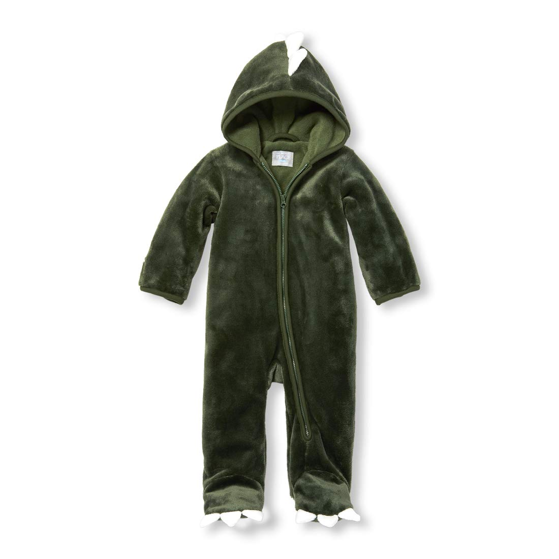 The Children's Place Baby Boys Animal Bunting Snow Suit, Garden Cypress, 9-12 MOS by The Children's Place