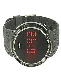 Men in Black Kc Mania Sleek Vibrant Digital Red LED Watch Fashion Aqua Master