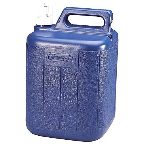 2 COLEMAN Camping Picnic 5 Gallon Water Carrier Containers w Spigot Handle