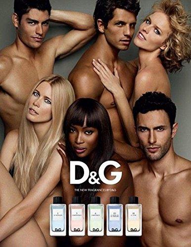 PRINT AD For Dolce & Gabanna Fragrance 2009 Supermodel OriginalPRINT AD - Gabanna And Dolce Model
