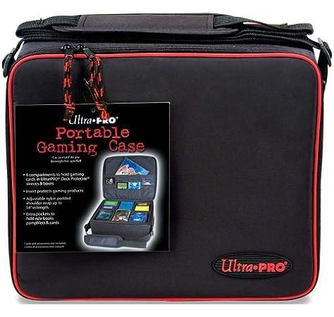 Ultra Pro Caja de Juegos con Cremallera con Inserto Ondulado: Amazon.es: Juguetes y juegos