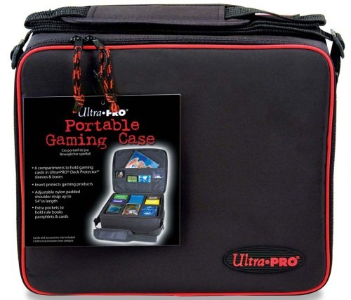 Collector Deck Box - Ultra Pro Gaming Case with Red Trim