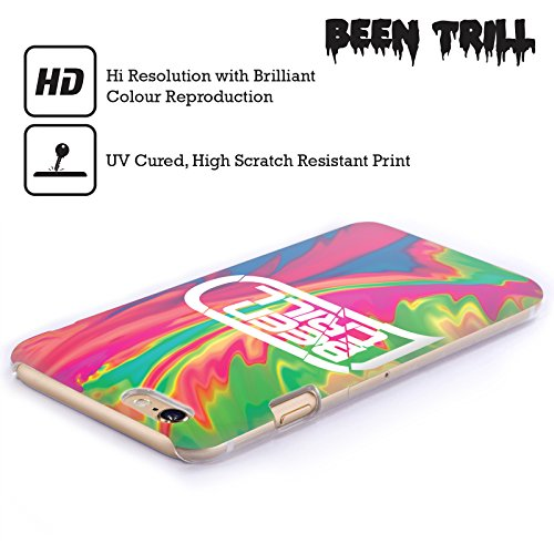 Official Been Trill Pink Tie Dye Hard Back Case for Apple iPhone 5 / 5s / SE