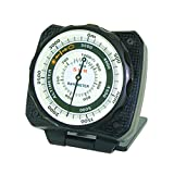 Sun Company AltiLINQ Meters - Dashboard Altimeter and Barometer | Altimeter for Car and Truck | Reads Altitude from 0 to 5,000 Meters