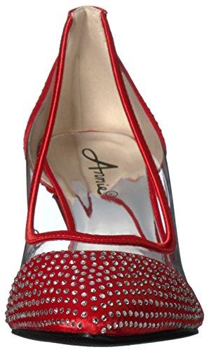 Annie Scarpe Donna Delux Dress Pump Rosso