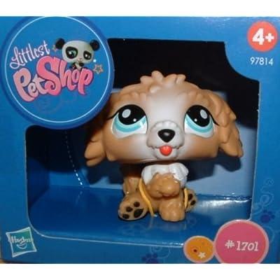 Littlest Pet Shop - Exclusive Limited Edition Figure - Labradoodle #1701: Toys & Games