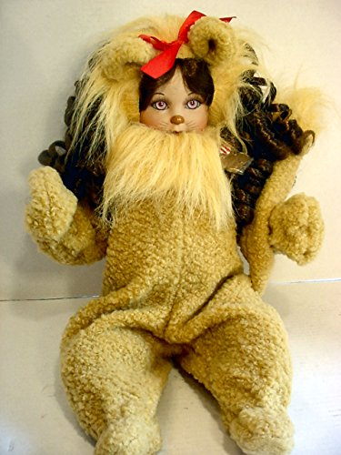(Marie Osmond Wizard of Oz Baby Cowardly Lion Hand Numbered Porcelain Doll)