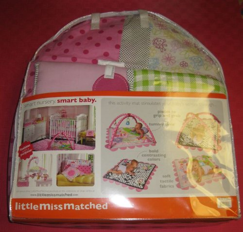 Little MissMatched 5 Piece Monkey Collection Crib Set