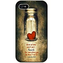 guard your heart, for everything you do flows from it Hard Case Cover Back Skin Protector For ipod Touch 5th