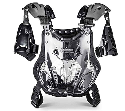 Typhoon Youth ATV Dirt Bike Chest Protector Motocross Roost Guard Under 100 - Youth Roost Deflector Profile