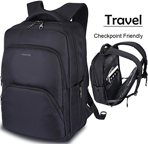 Lapacker Travel Large Checkpoint Friendly ScanSmart TSA Laptop Backpack Computer Fits 15.6-17.3 Inch Tablets