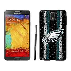Philadelphia Eagles Black Fantastic Recommended Customized Samsung Galaxy Note 3 N9005 Phone Case