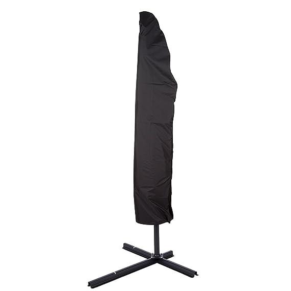 Spetebo Custodia protettiva di alta qualit/à per ombrelloni da 200 a 400 cm Copertura per ombrellone Materiale Oxford 420D