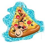 Floatie Kings: Pizza Lounge Pool Float - Giant Premium Inflatable