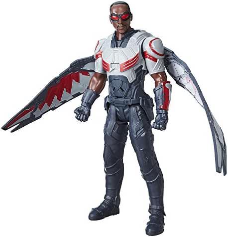 Marvel Titan Hero Series Marvel's Falcon Electronic Figure