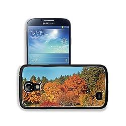 Orange Tree Nature Autumn Scenery Samsung Galaxy S4 Snap Cover