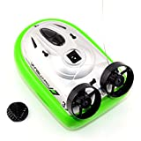 Acten Fashion New Green Mini Radio Control RC Hovercraft Racing Speed Boat