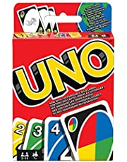 UNO W2087 Card Game - European Version