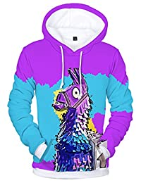 EmilyLe Premium Fortnite 3D Printed Unisex Hoodie Novelty Teen Sweatshirt