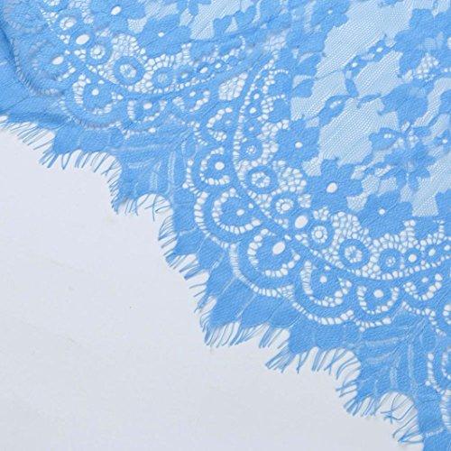 Maternidad Fiesta Vestidos de Playa Vestidos Apoyos Boda Embarazada Azul Faldas K youth de Fotografía Largos Embarazada Mujer Mujer Maternidad de Vestido Fotografia Encaje TgAA8x