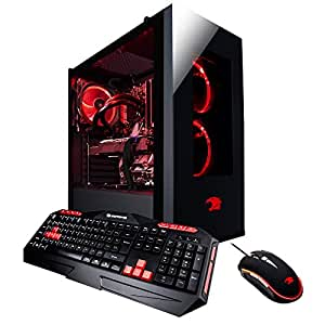 iBUYPOWER Gaming Desktop PC AM043i Intel i7-8700k 6-Core 3.7 GHz, NVIDIA Geforce RTX 2080 8GB, 16GB RAM, 2TB HDD, 480GB SSD, Liquid Cooling, 802.11AC WiFi, Win 10, RGB Case, VR Ready