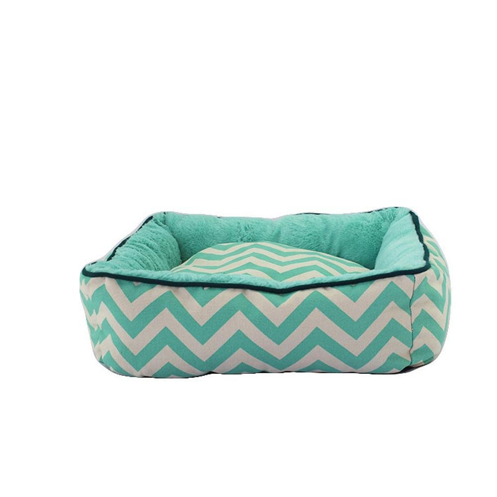 655518cm Aoligei Dog Mat with Biting mat can be Washed and Washed pet nest Perfect for Sunbathing mat, Nap&Sleeping Bed