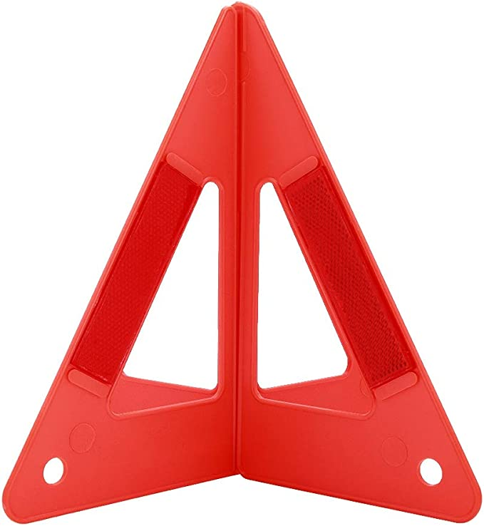 Car Vehicle Emergency Breakdown Warning Sign Triangle Reflective Road Safety Foldable Reflective Road Safety