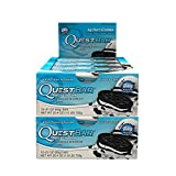 Quest Nutrition Protein Bar Cookies & Cream. Low Carb Meal Replacement Bar w/ 20g+ Protein. High Fiber, Soy-Free, Gluten-Free (24 Count)