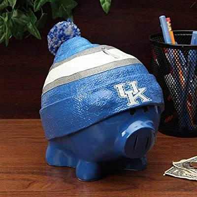 Kentucky Wildcats Piggy Bank - Large With Hat - Licensed NHL Hockey Gift