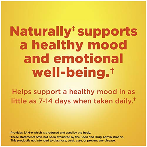 Nature Made SAM-e Complete 400 mg Tablets, 36 Count Value Size, Supports a Healthy Mood & Joint Comfort† (Packaging May Vary)