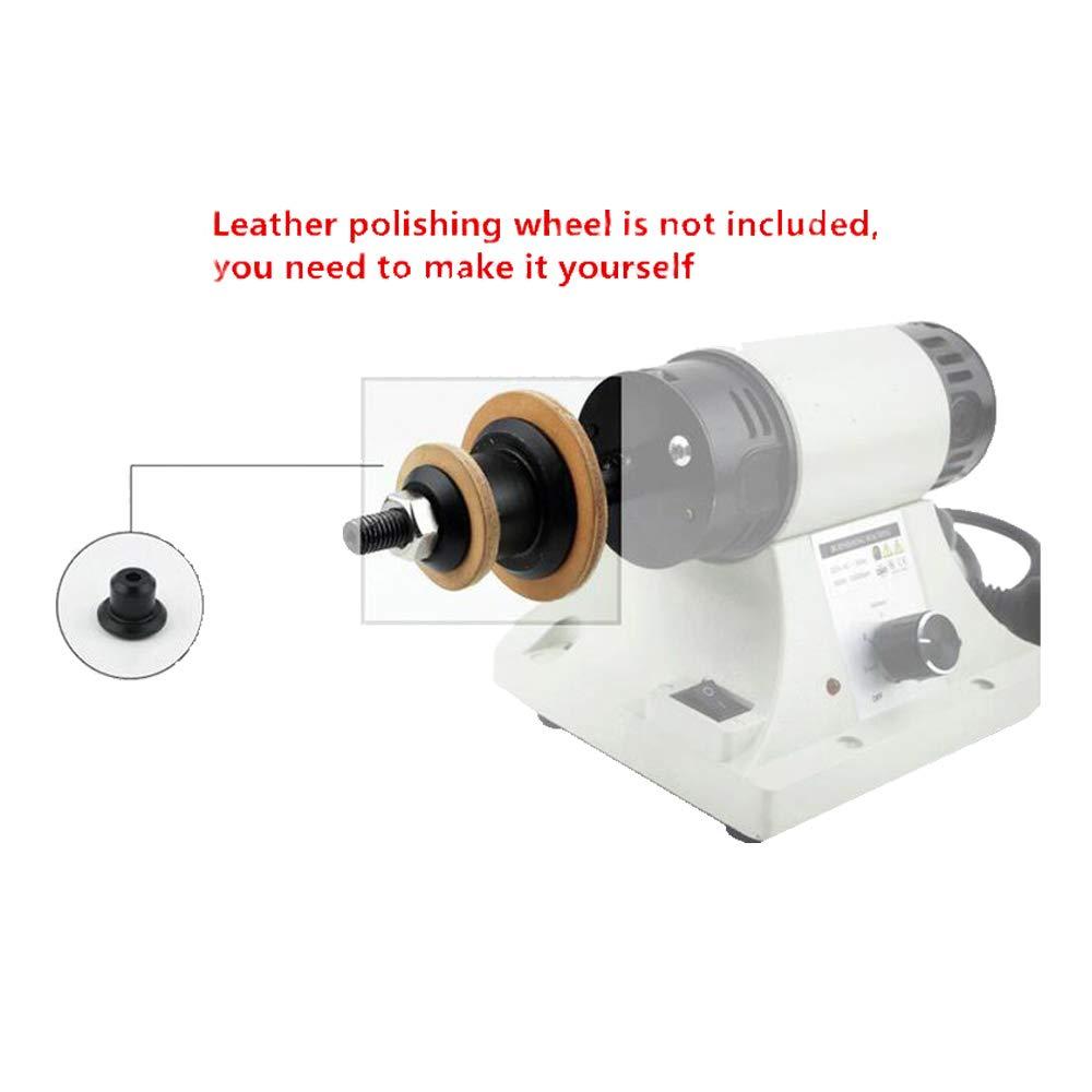 Leather Polishing Burnishing Machine Leather Edge Grinding Machine 110V 0-8000RPM