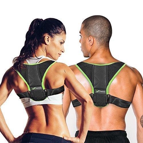 Back Support Posture Corrector for Women & Men – Posture Brace & Back Brace for Women & Men – Best Back Support Brace for Posture Support, Back Pain, Neck Pain, Shoulder Pain, Stress Relief