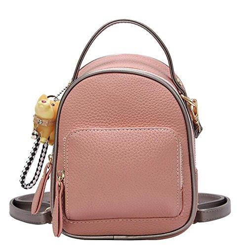16 multifonctionnel de Sac cuir souple 20cm sac mode à PU à 11 décontracté en de sac dos femmes main FAWRnAa